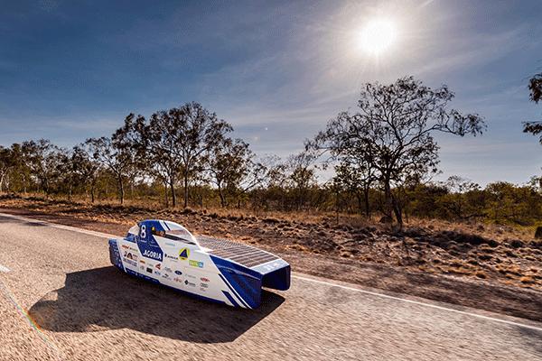 SolarCar Belgium at the Solar Race 2019