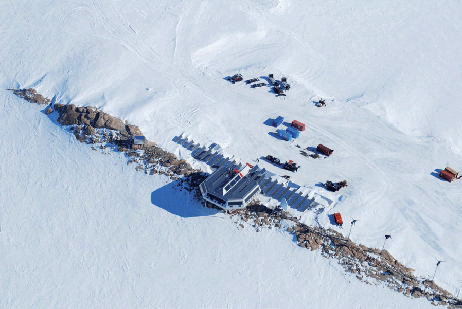 Princess Elisabeth Belgium Polar Research Station